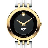 Virginia Tech Women's Movado Esparanza Two-Tone Museum with Bracelet