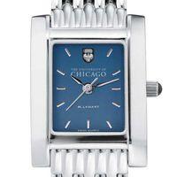 Chicago Women's Blue Quad Watch with Bracelet