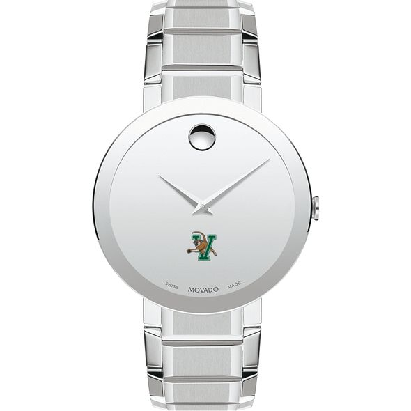 University of Vermont Men's Movado Sapphire Museum with Bracelet - Image 2