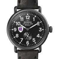 Holy Cross Shinola Watch, The Runwell 41mm Black Dial