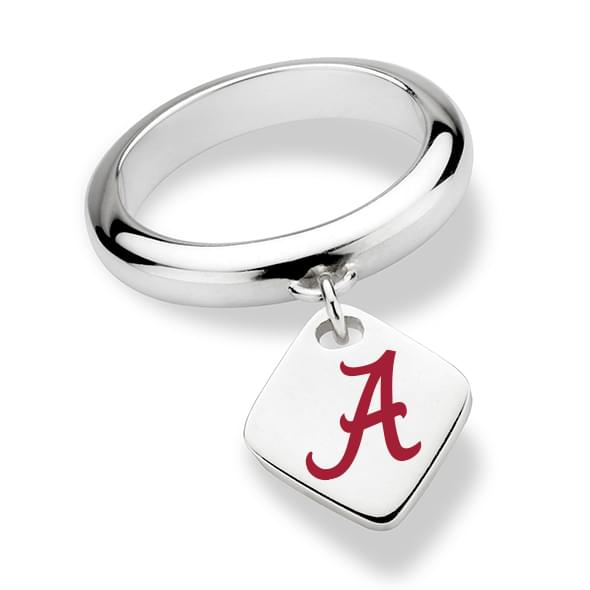 Alabama Sterling Silver Ring with Sterling Tag