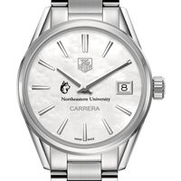Northeastern Women's TAG Heuer Steel Carrera with MOP Dial
