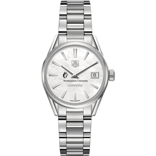 Northeastern Women's TAG Heuer Steel Carrera with MOP Dial - Image 2
