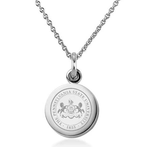 Penn State University Necklace with Charm in Sterling Silver - Image 1 ...