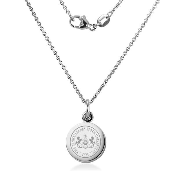 Penn State University Necklace with Charm in Sterling Silver - Image 2