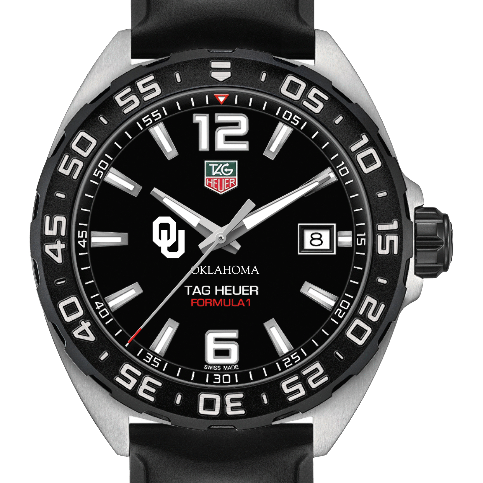 Oklahoma Men's TAG Heuer Formula 1 with Black Dial
