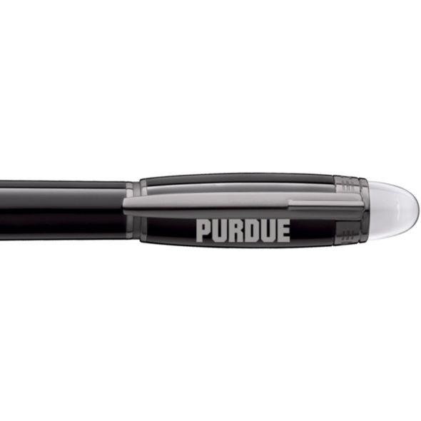 Purdue University Montblanc StarWalker Fineliner Pen in Ruthenium - Image 2