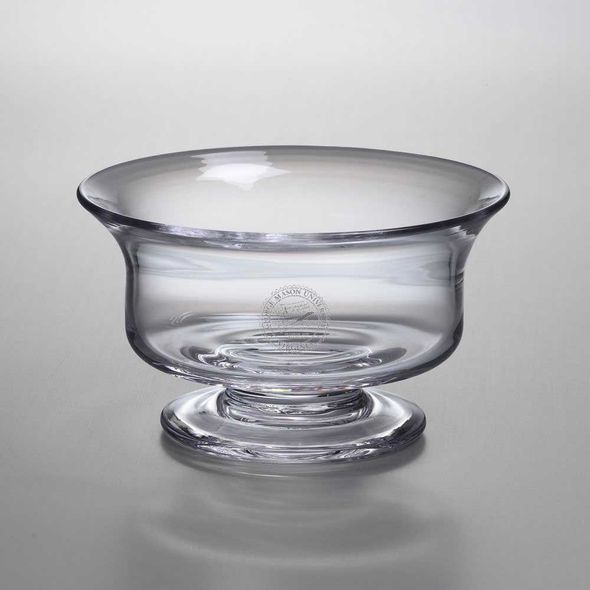 George Mason University Simon Pearce Glass Revere Bowl Med