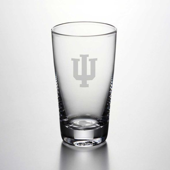Indiana University Ascutney Pint Glass by Simon Pearce
