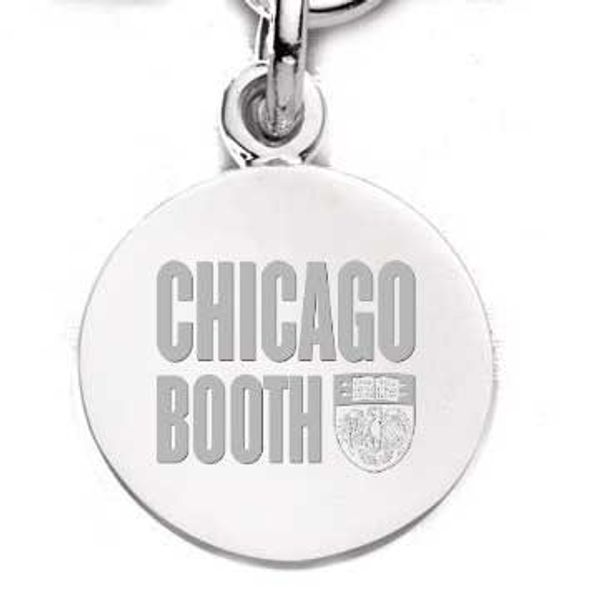 Chicago Booth Sterling Silver Charm