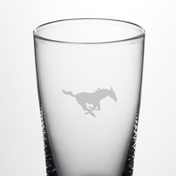 SMU Pint Glass by Simon Pearce - Image 2