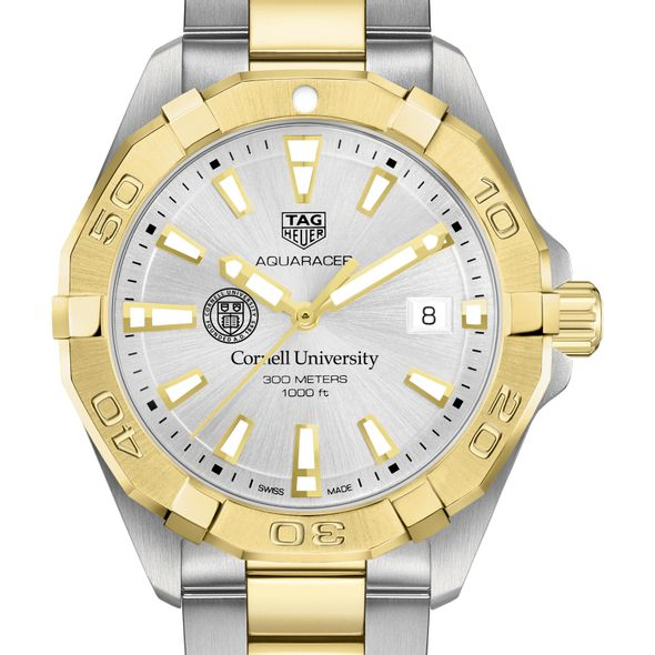 Cornell University Men's TAG Heuer Two-Tone Aquaracer
