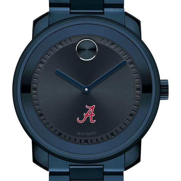 University of Alabama Men's Movado BOLD Blue Ion with Bracelet - Image 1