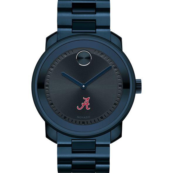 University of Alabama Men's Movado BOLD Blue Ion with Bracelet - Image 2