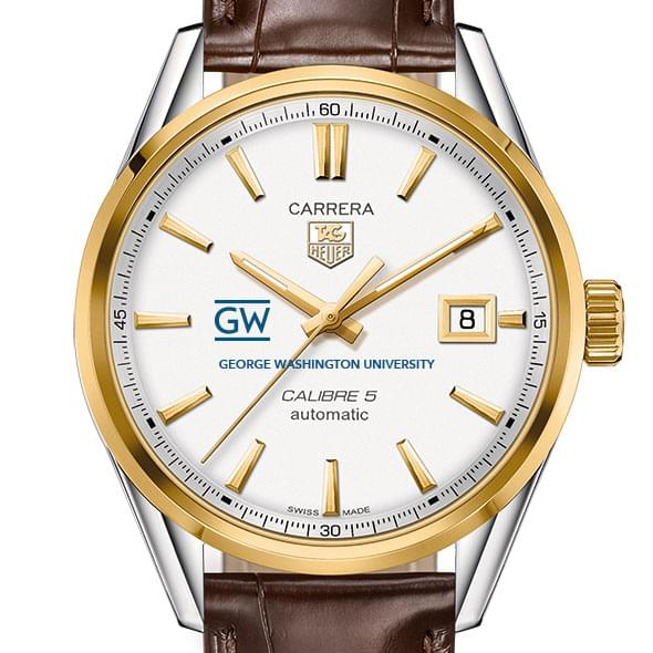 George Washington Men's TAG Heuer Two-Tone Carrera with Strap