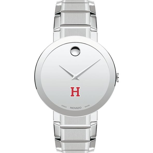 Harvard University Men's Movado Sapphire Museum with Bracelet - Image 2