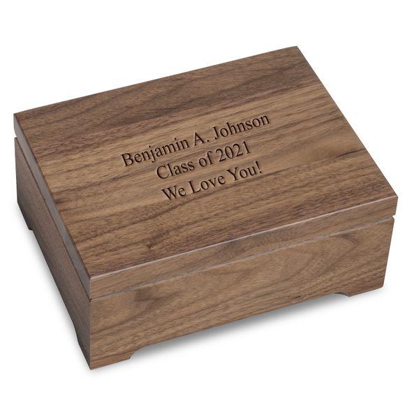 Solid Walnut Desk Box - Image 1