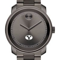 Brigham Young University Men's Movado BOLD Gunmetal Grey
