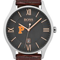 Princeton University Men's BOSS Classic with Leather Strap from M.LaHart