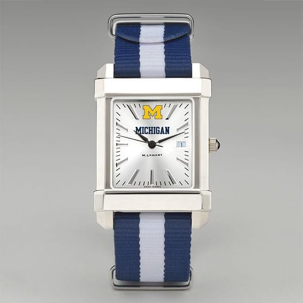 University of Michigan Collegiate Watch with NATO Strap for Men - Image 2