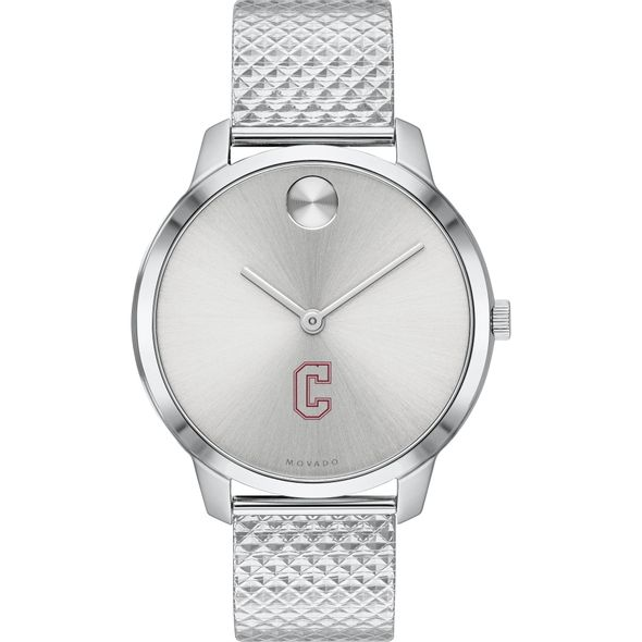 College of Charleston Women's Movado Stainless Bold 35 - Image 2