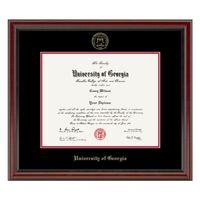University of Georgia Diploma Frame, the Fidelitas