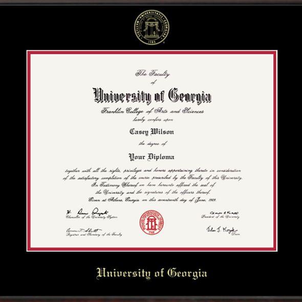 University of Georgia Diploma Frame, the Fidelitas - Image 2