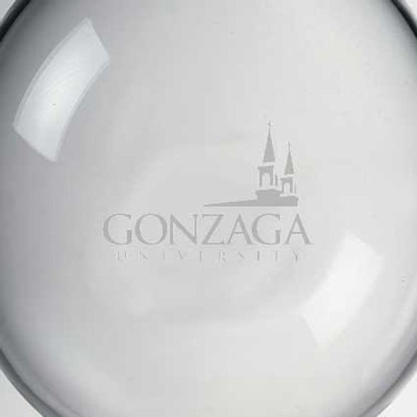 Gonzaga Glass Ornament by Simon Pearce - Image 2