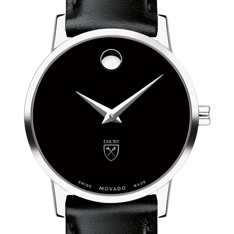 Emory Women's Movado Museum with Leather Strap