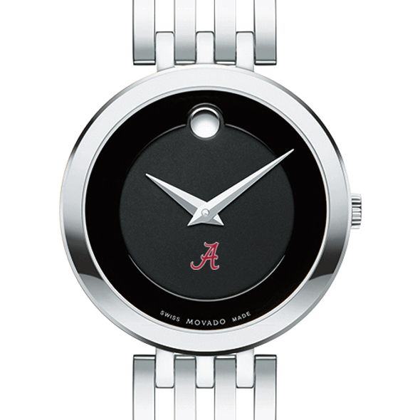 University of Alabama Women's Movado Esparanza Stainless Steel Museum with Bracelet