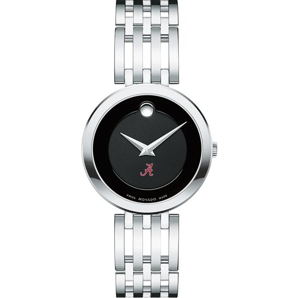 University of Alabama Women's Movado Esparanza Stainless Steel Museum with Bracelet - Image 2