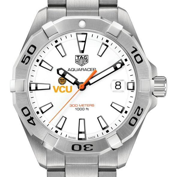 Virginia Commonwealth University Men's TAG Heuer Steel Aquaracer