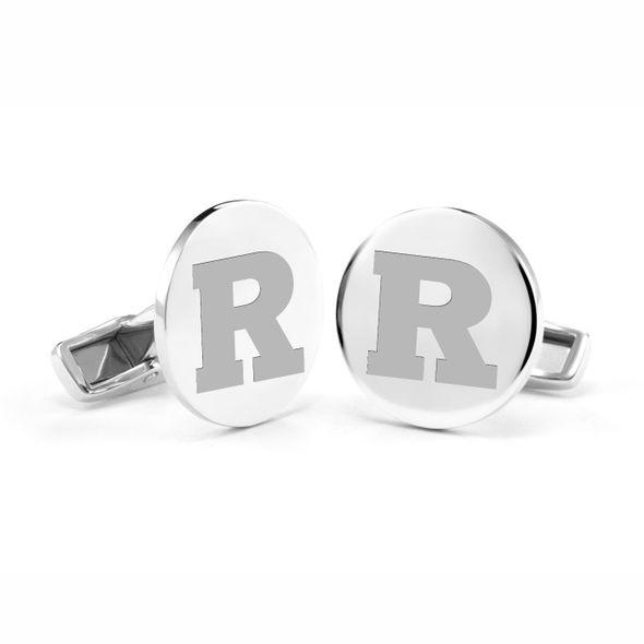 Rutgers University Cufflinks in Sterling Silver