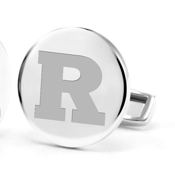 Rutgers University Cufflinks in Sterling Silver - Image 2