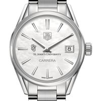 St. John's Women's TAG Heuer Steel Carrera with MOP Dial