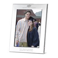 Oklahoma State University Polished Pewter 5x7 Picture Frame