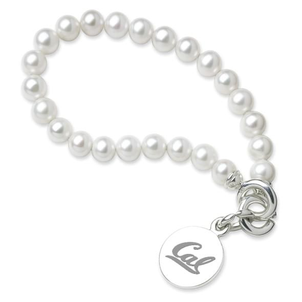 Berkeley Pearl Bracelet with Sterling Silver Charm - Image 1