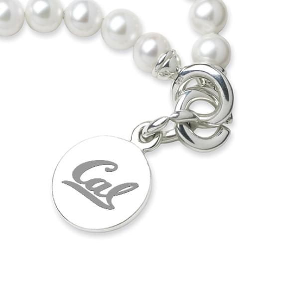 Berkeley Pearl Bracelet with Sterling Silver Charm - Image 2