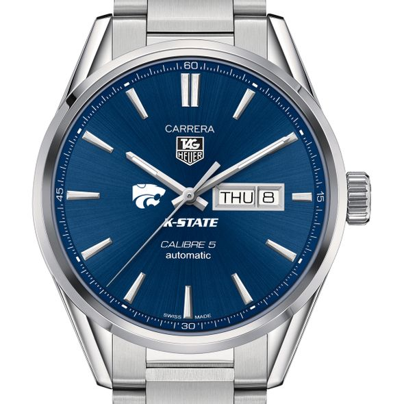 Kansas State University Men's TAG Heuer Carrera with Day-Date