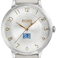 Saint Louis University Women's BOSS White Leather from M.LaHart