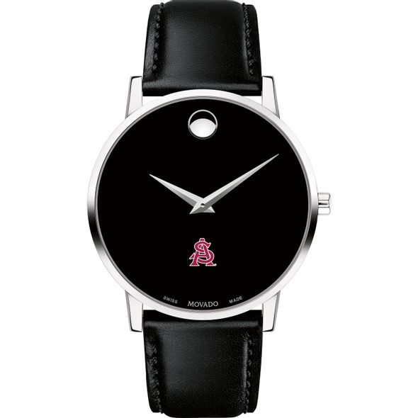 ASU Men's Movado Museum with Leather Strap - Image 2