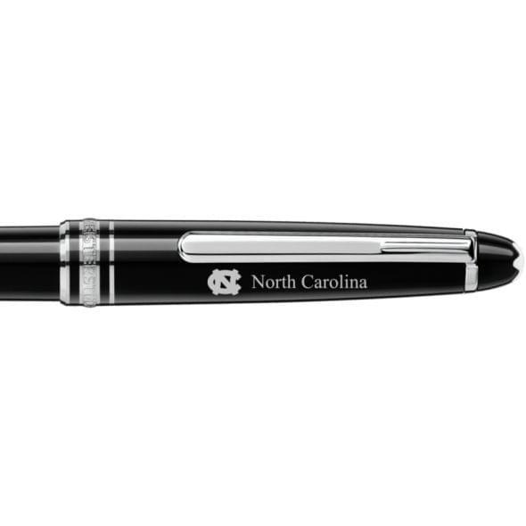 North Carolina Montblanc Meisterstück Classique Ballpoint Pen in Platinum - Image 2