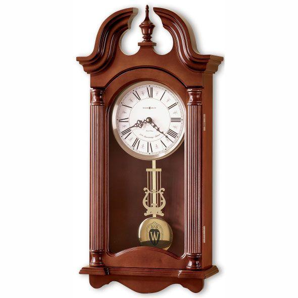Wisconsin Howard Miller Wall Clock
