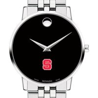 North Carolina State Men's Movado Museum with Bracelet