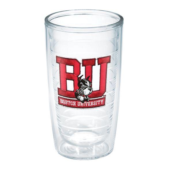 Boston University 16 oz. Tervis Tumblers - Set of 4