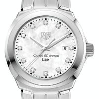 SC Johnson College TAG Heuer Diamond Dial LINK for Women