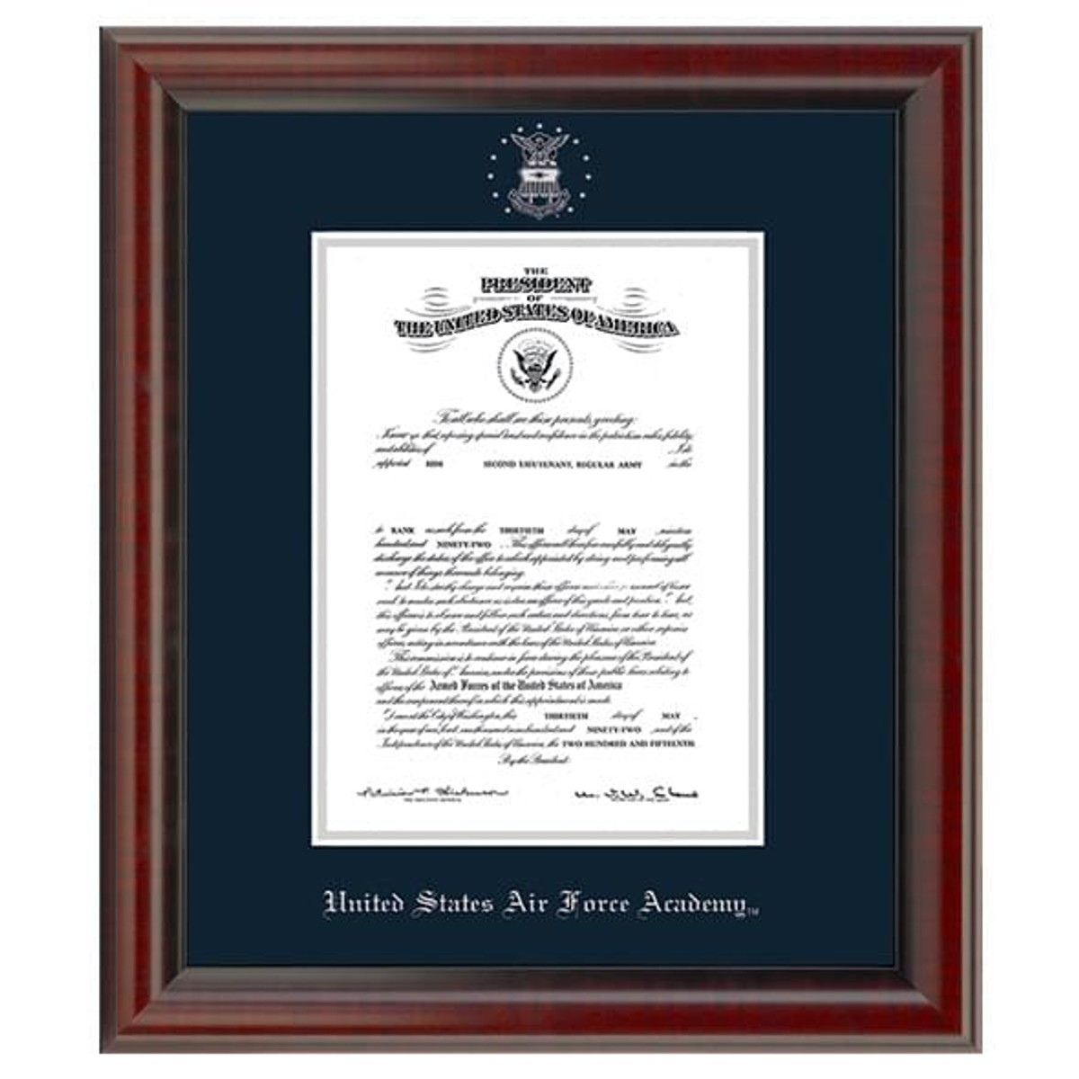 Us Air Force Academy Diploma Frame Fidelitas