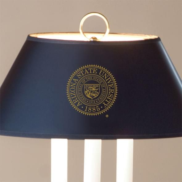Arizona State Lamp in Brass & Marble - Image 2
