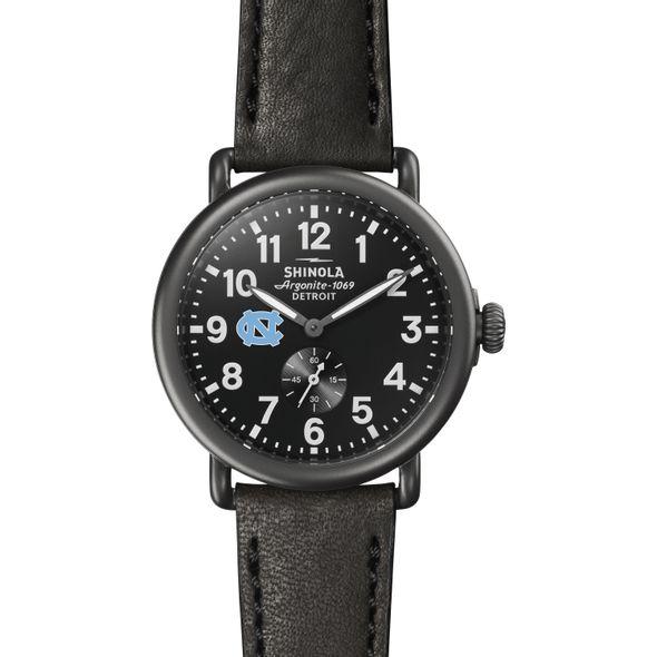 UNC Shinola Watch, The Runwell 41mm Black Dial - Image 2
