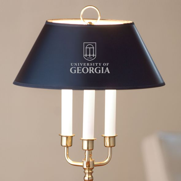 University of Georgia Lamp in Brass & Marble - Image 2